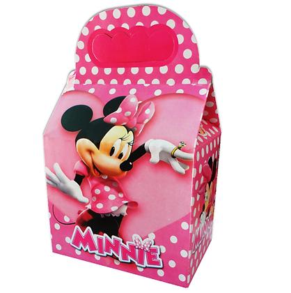 Caja minnie rosa c/10 pzas