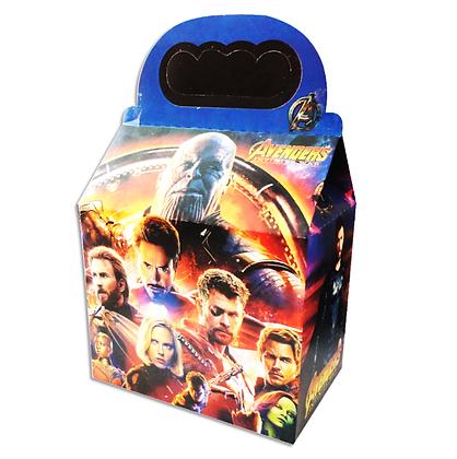 Caja avengers c/10 pzas