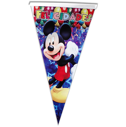 Banderin mickey mausse