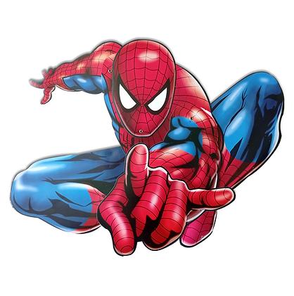 Adorno movil spiderman