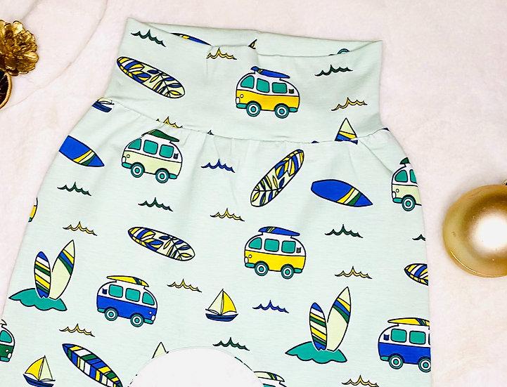 Gone Surfing Print Shorts
