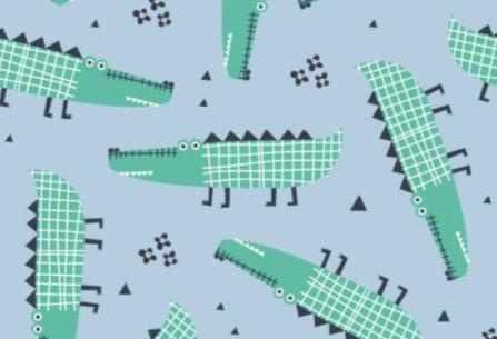 Crocodile Cotton Jersey