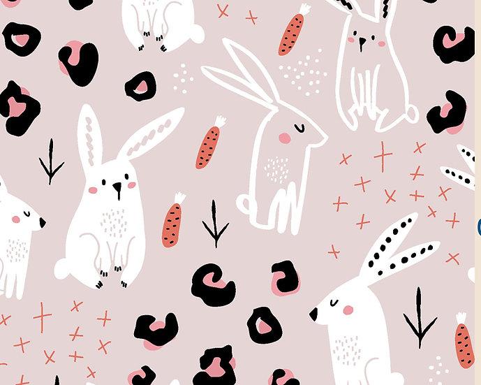 Rabbit Doodle Cotton