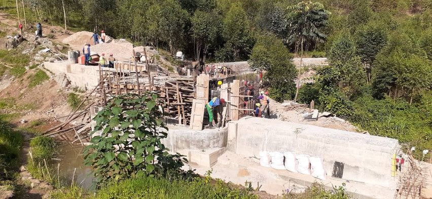 Kavumu - Dam construction