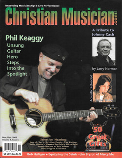 Christian Musician Cover 2003