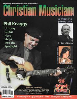 Christian Musician Cover 2003