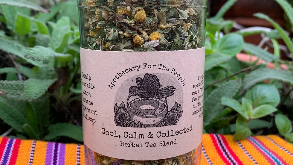 Cool, Calm and Collected Tea