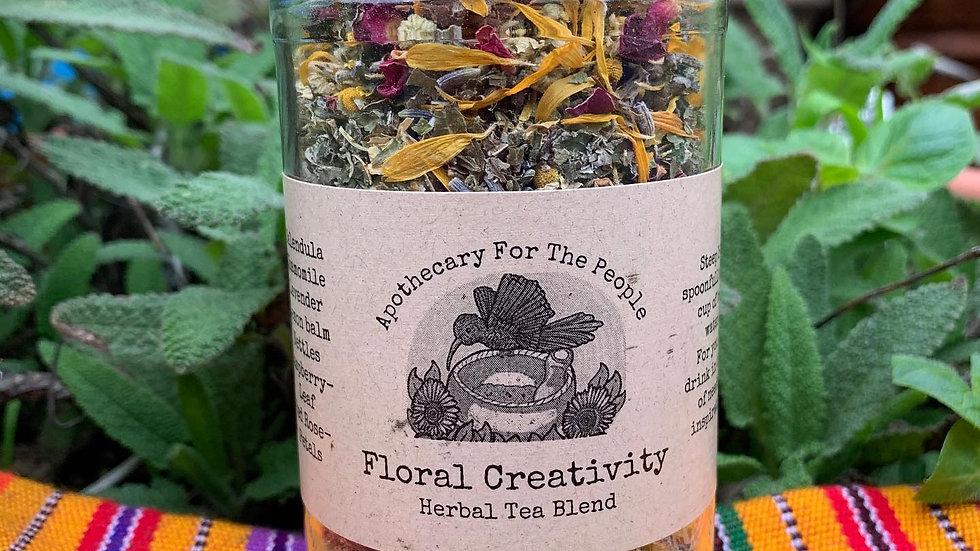 Floral Creativity Herbal Tea Blend