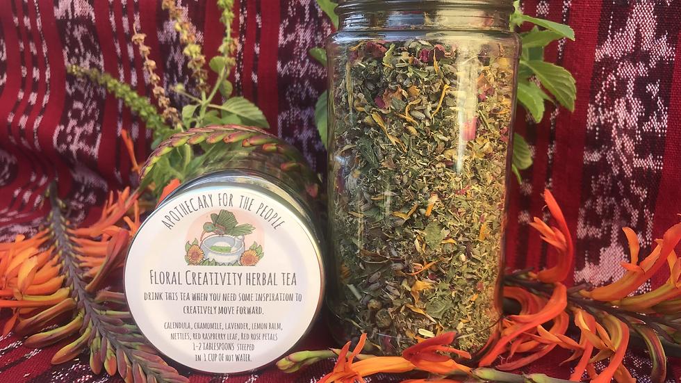 Floral Creativity Herbal Tea