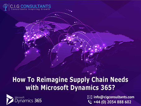How To Reimagine Supply Chain Needs with Microsoft Dynamics 365?