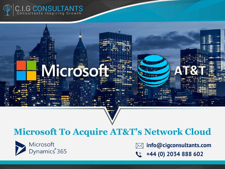 Microsoft To Acquire AT&T's Network Cloud