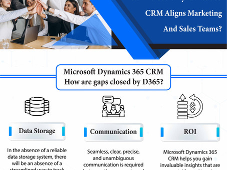 How Microsoft Dynamics 365 CRM Aligns Marketing And Sales Teams?