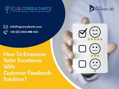 How To Empower Seller Excellence With Customer Feedback Solutions?