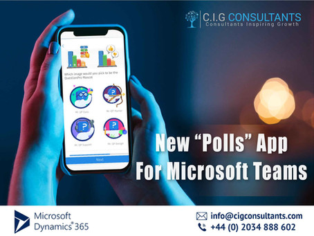 "New ""Polls"" App For Microsoft Teams"