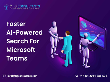 Faster AI-Powered Search For Microsoft Teams