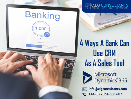 4 Ways A Bank Can Use CRM As A Sales Tool
