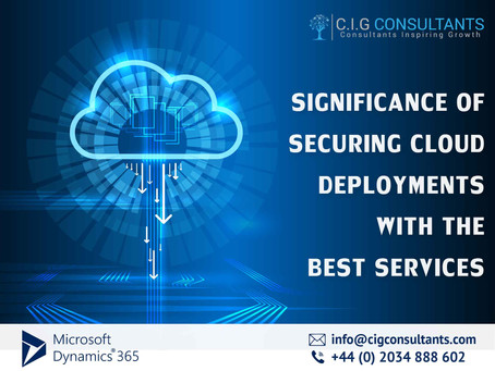 Significance Of Securing Cloud Deployments With The Best Services