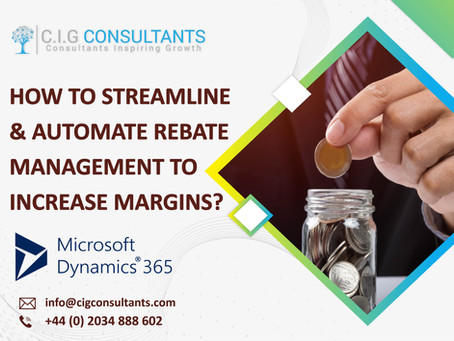 How To Streamline & Automate Rebate Management To Increase Margins?