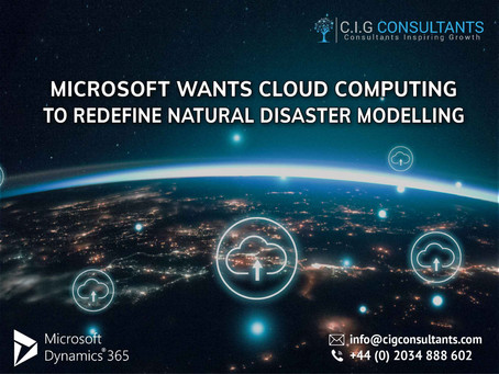 Microsoft Wants Cloud Computing To Redefine Natural Disaster Modelling