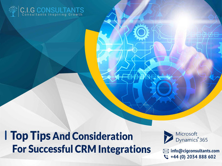 Top Tips And Considerations For Successful CRM Integrations