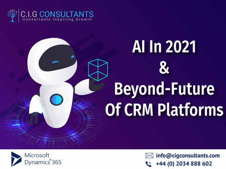 AI In 2021 And Beyond-Future Of CRM Platforms