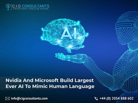 Nvidia And Microsoft Build Largest Ever AI To Mimic Human Language