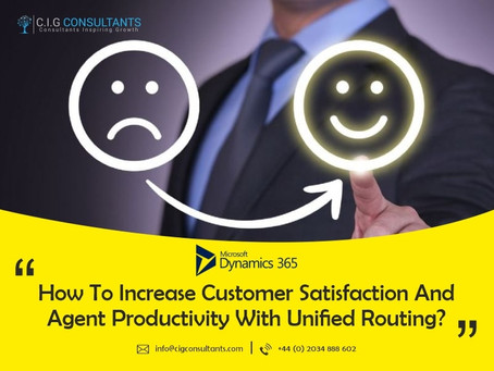 How To Increase Customer Satisfaction And Agent Productivity With Unified Routing?