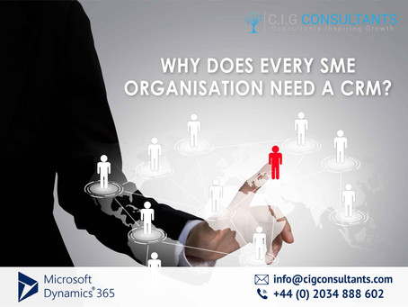 Why Does Every SME Organisation Need A CRM?
