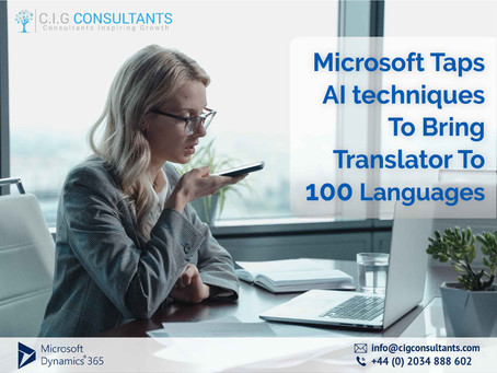 Microsoft Taps AI techniques To Bring Translator To 100 Languages