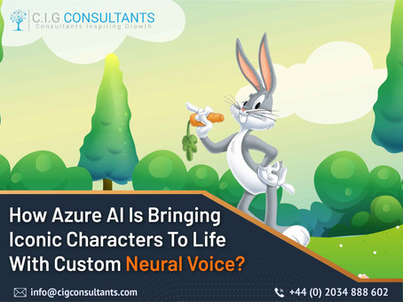 How Azure AI Is Bringing Iconic Characters To Life With Custom Neural Voice?