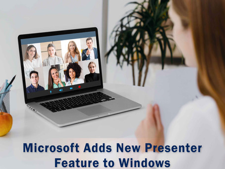 Microsoft Adds New Presenter Feature To Windows
