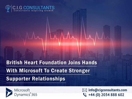 British Heart Foundation Joins Hands With Microsoft To Create Stronger Supporter Relationships