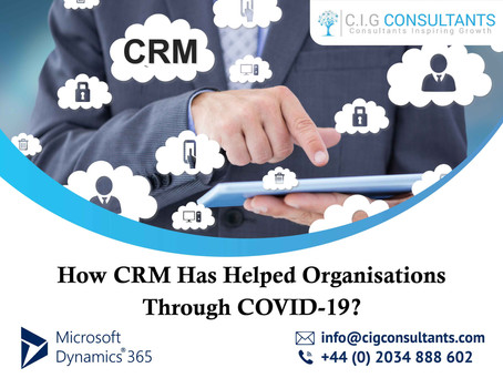 How CRM Has Helped Organisations Through COVID-19?
