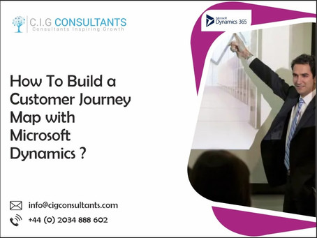 How To Build A Customer Journey Map With Microsoft Dynamics?