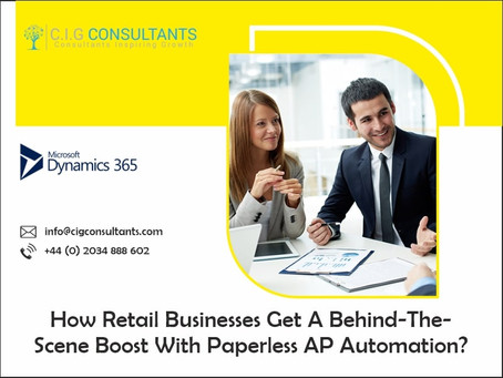How Retail Businesses Get A Behind-The-Scene Boost With Paperless AP Automation?