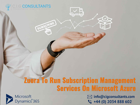 Zuora To Run Subscription Management Services On Microsoft Azure