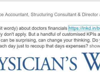 KPIs That Actually Have Meaning To A Doctor
