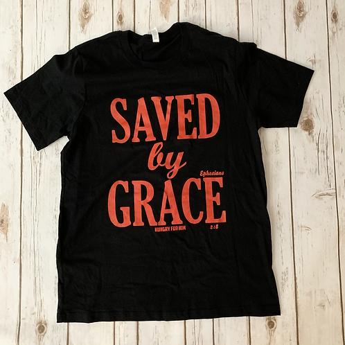 Saved by Grace - Black