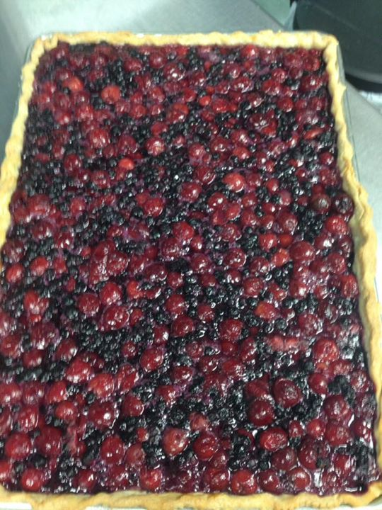 Very Berry Slab Pie!