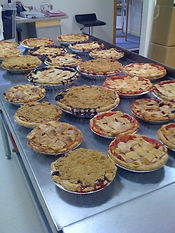 Fresh Pies out of the oven