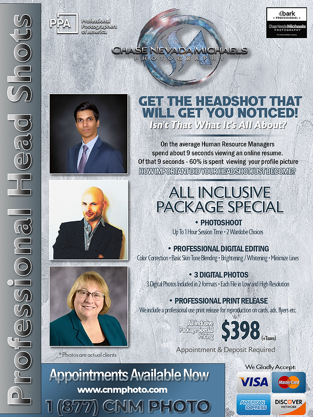 HeadShot Promotional Flyer