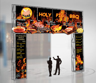 Holy Pig BBQ Food Booth