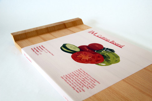 Angled Cutting Board