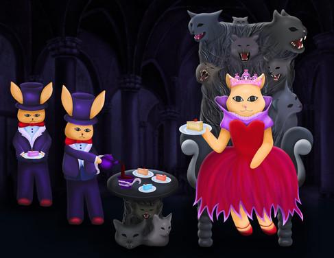 Cat Evil Queen