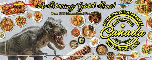 Theme Banner 4' H x 10' W_Dino & Food.pn