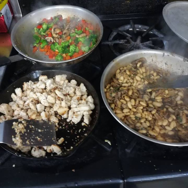 Cooking Dinner