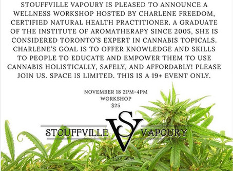 Stoufville Vapoury Workshop
