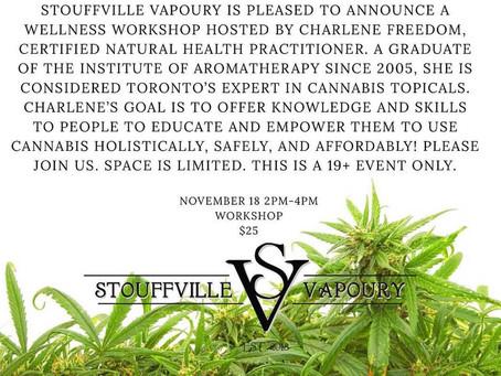 Stoufville Vapoury Workshop