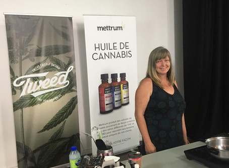 Workshop with Sante Cannabis in MTL