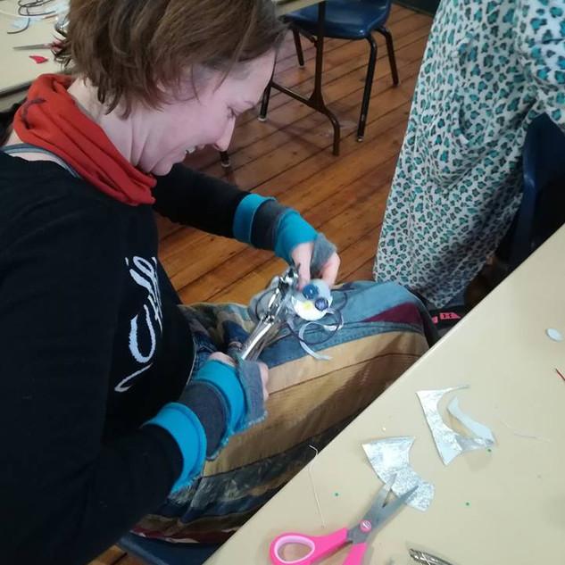 crafting medicine bags-winter 2018